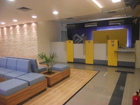 Atendimento personalizado em bancos