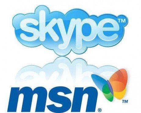 Trocanso MSN pelo Skyp