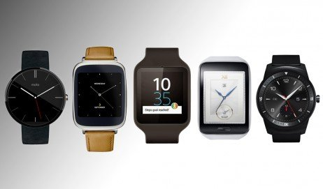 Tipos de formatos para smart watches